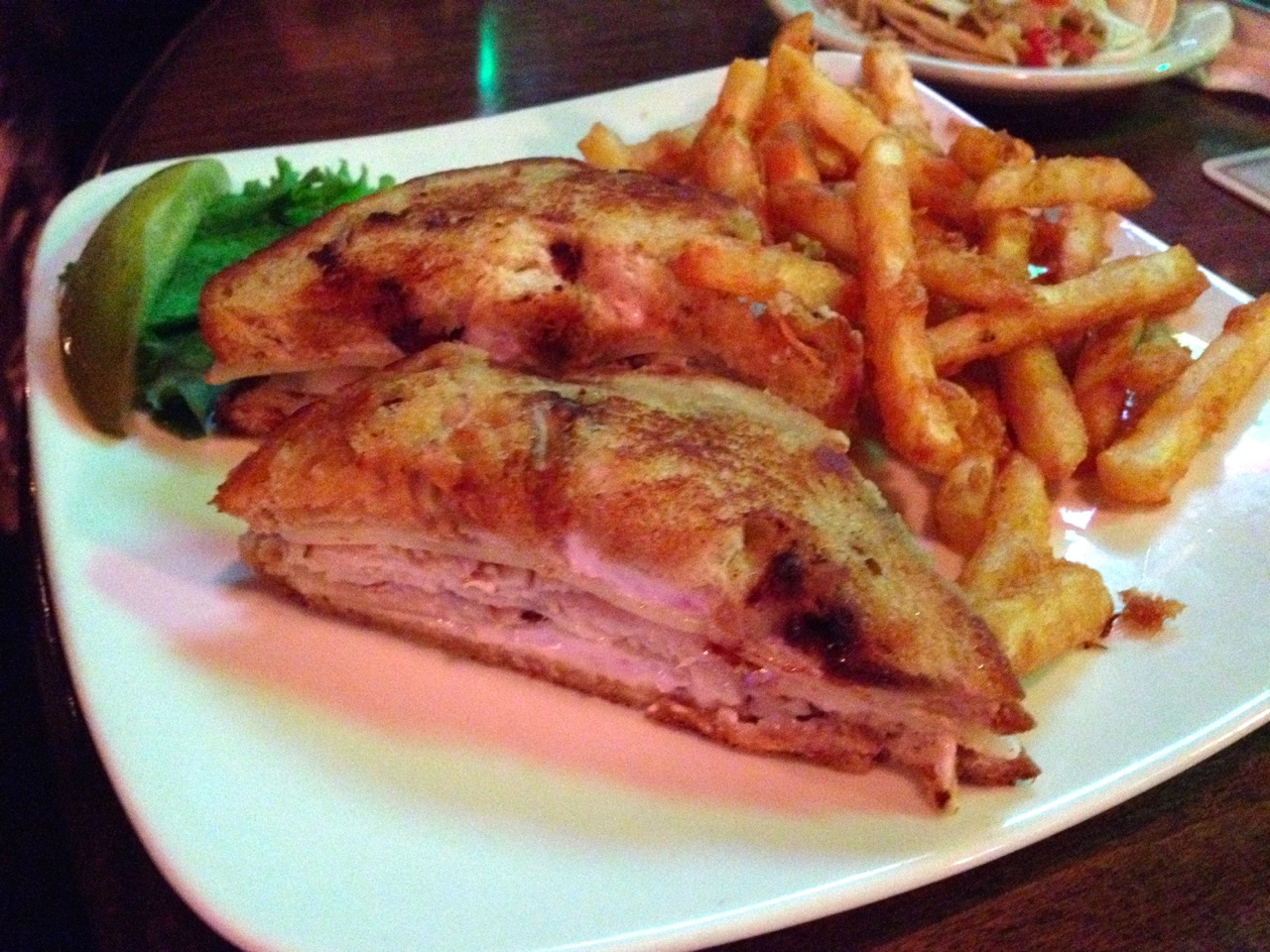 The Turkey Cranberry Sandwich at RF McDougall's – October 13 2013