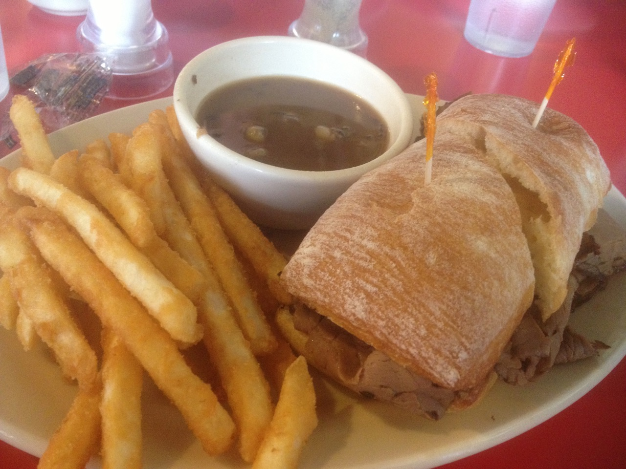 French Dip at O'Henrys - March 26 2013