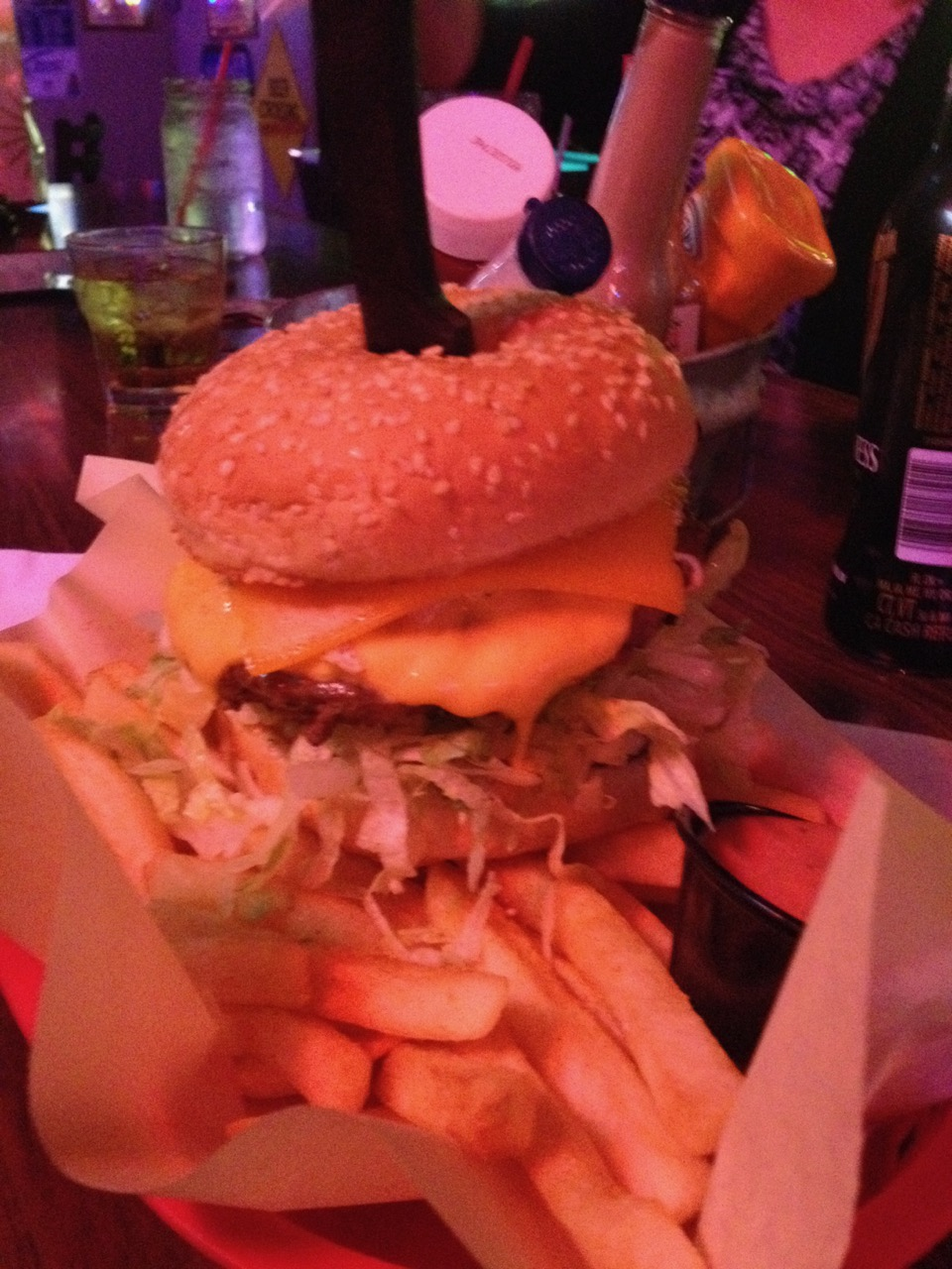The Parkade Bar & Grill Works Burger – January 21 2012