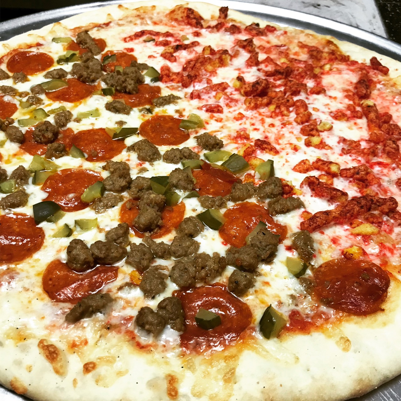 Last Dinner of the Year: Pizza From Eatz Pizza – December 31 2017
