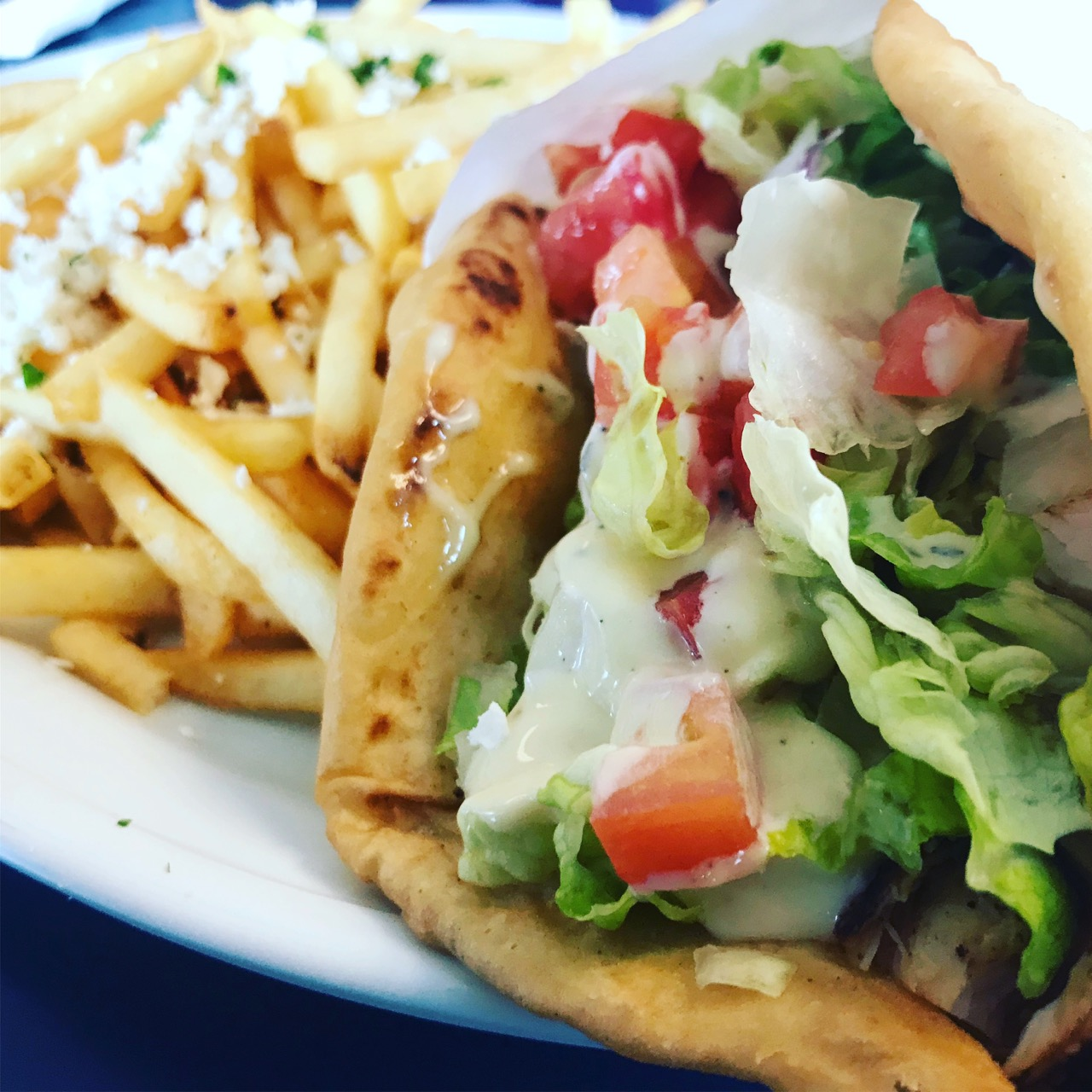 The Chicken Gyro at Greek Islands in Richland – March 16 2018