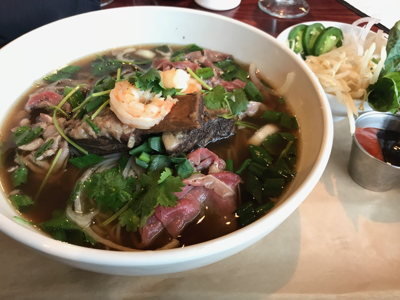 A Second Round of Pho at Edge Steakhouse in Kennewick – March 15 2018