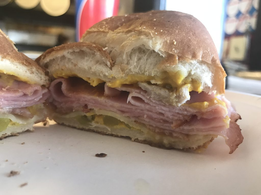 The Cuban With Bacon at Eatz Pizza in Richland – April 16 2018