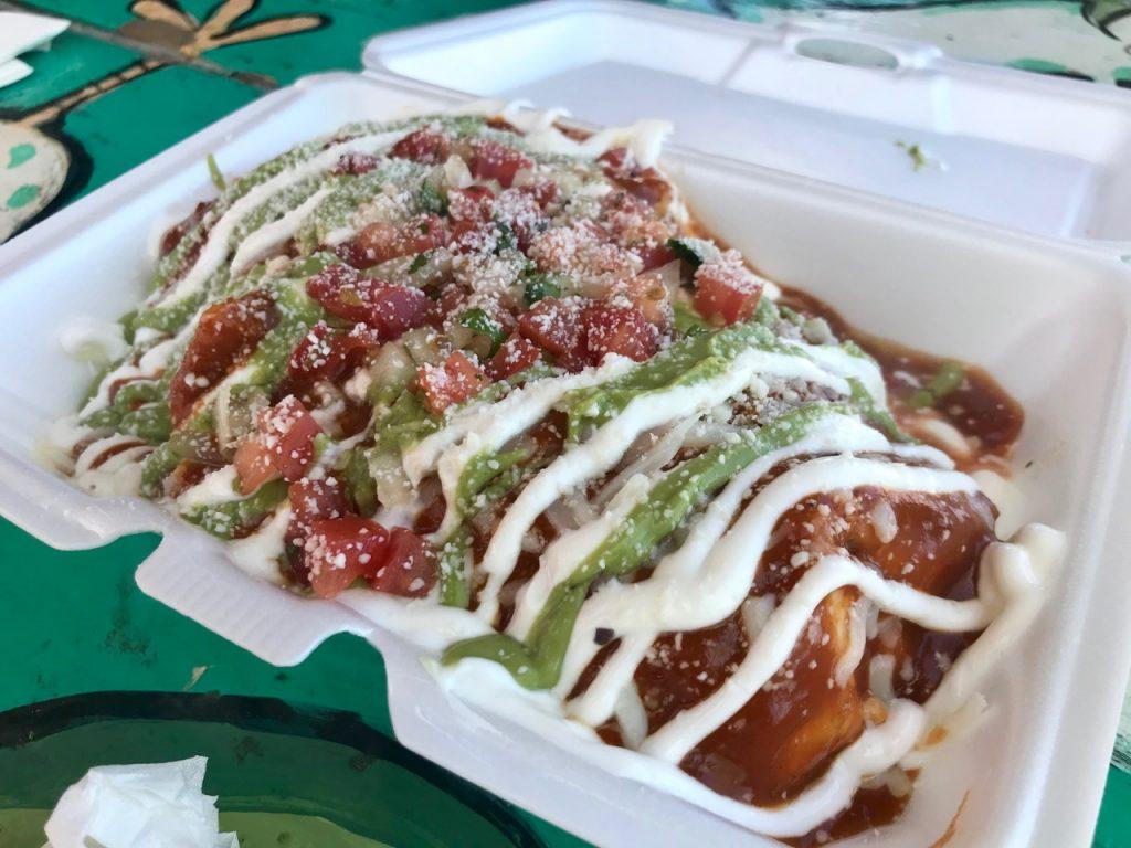The Chilada Burrito at El Fat Cat Grill in Kennewick – April 20 2018