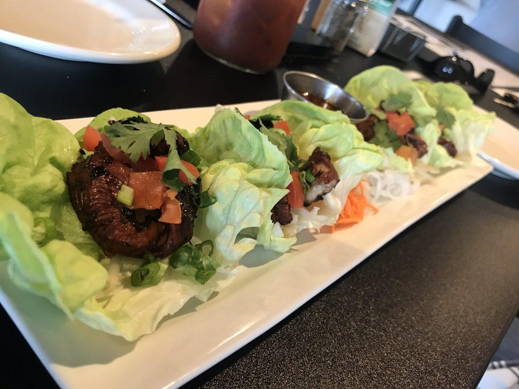 Chicken Lettuce Wraps at Edge Steakhouse & Lounge – June 9 2018