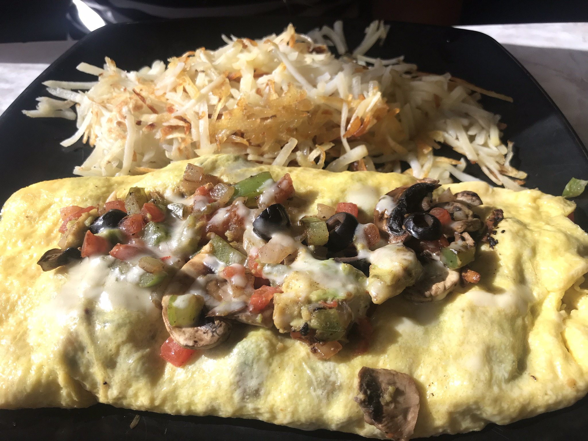The Veggie Omelette at Andy's North – July 28 2018