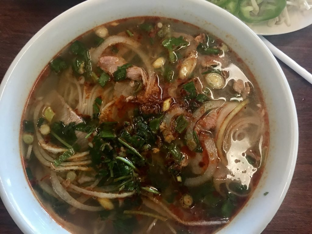 Beef Pho at Yummie Pho in Kennewick – September 20 2018