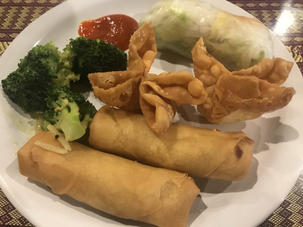 Going Vegetarian at Bangkok Thai in Kennewick – August 15 2018