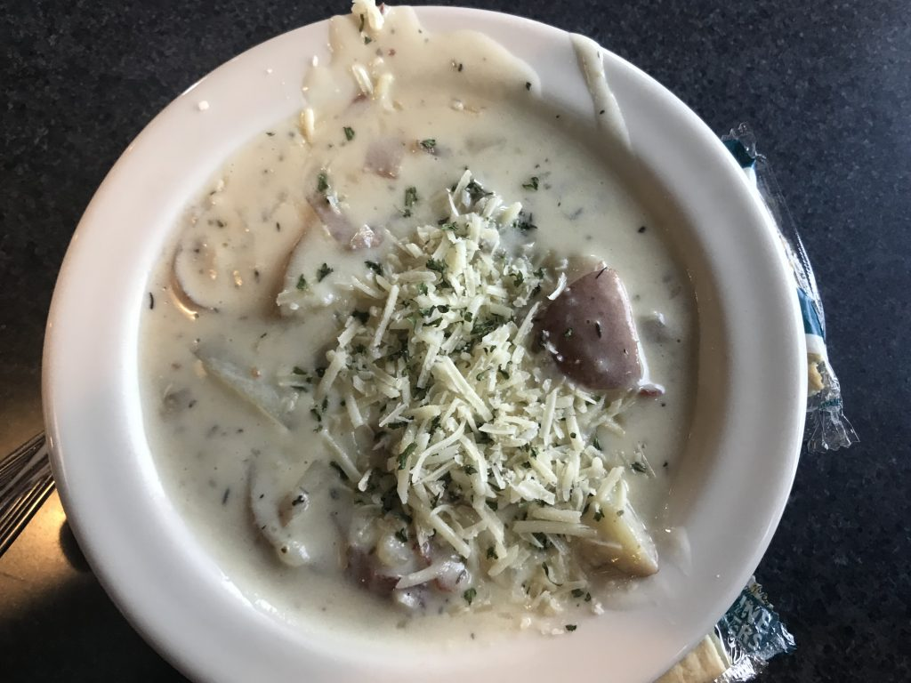 Red Potato Soup & Sandwiches at Atomic Ale – August 28 2018