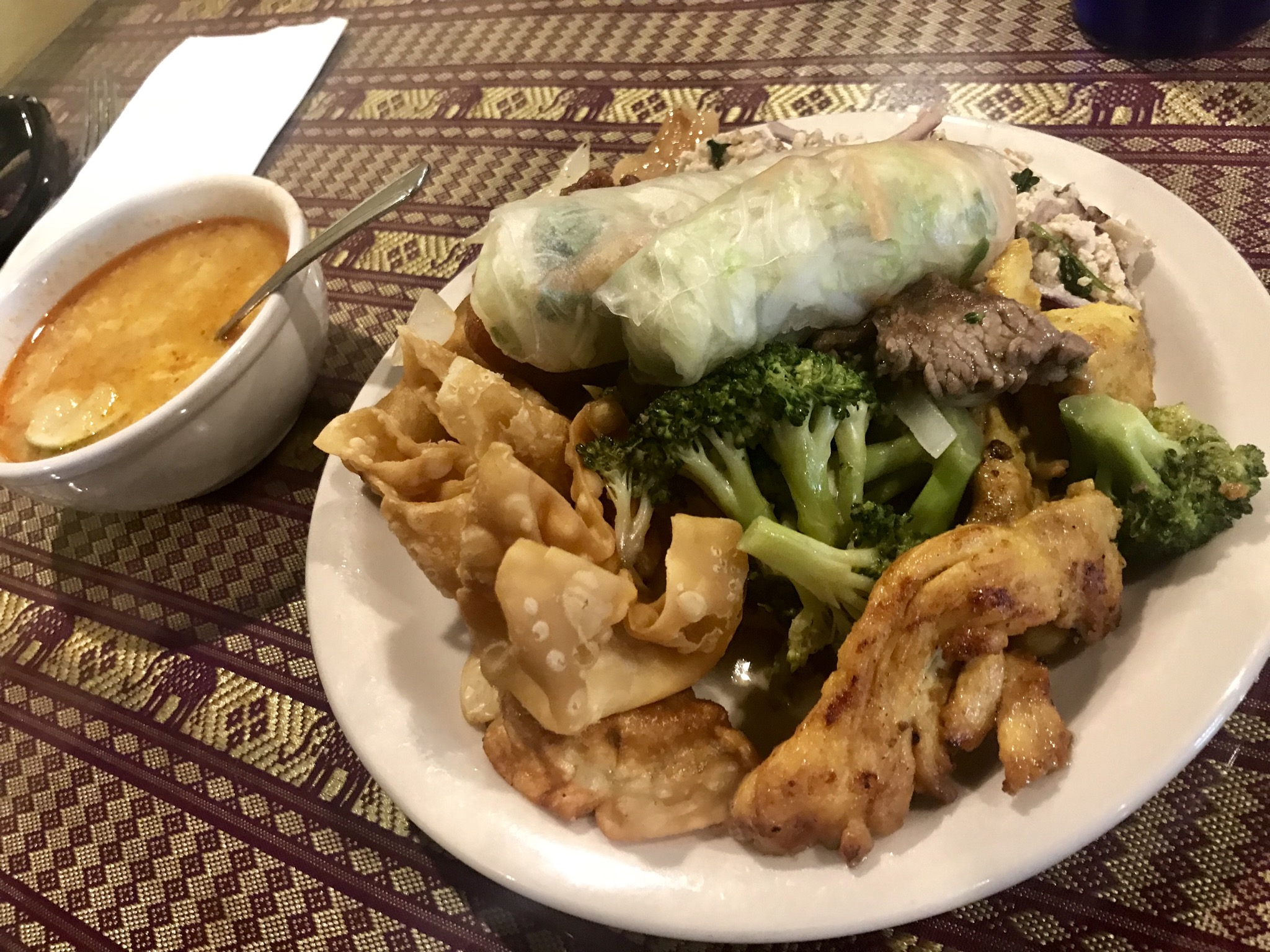 Lunch at Bangkok Thailand in Kennewick – September 6 2018