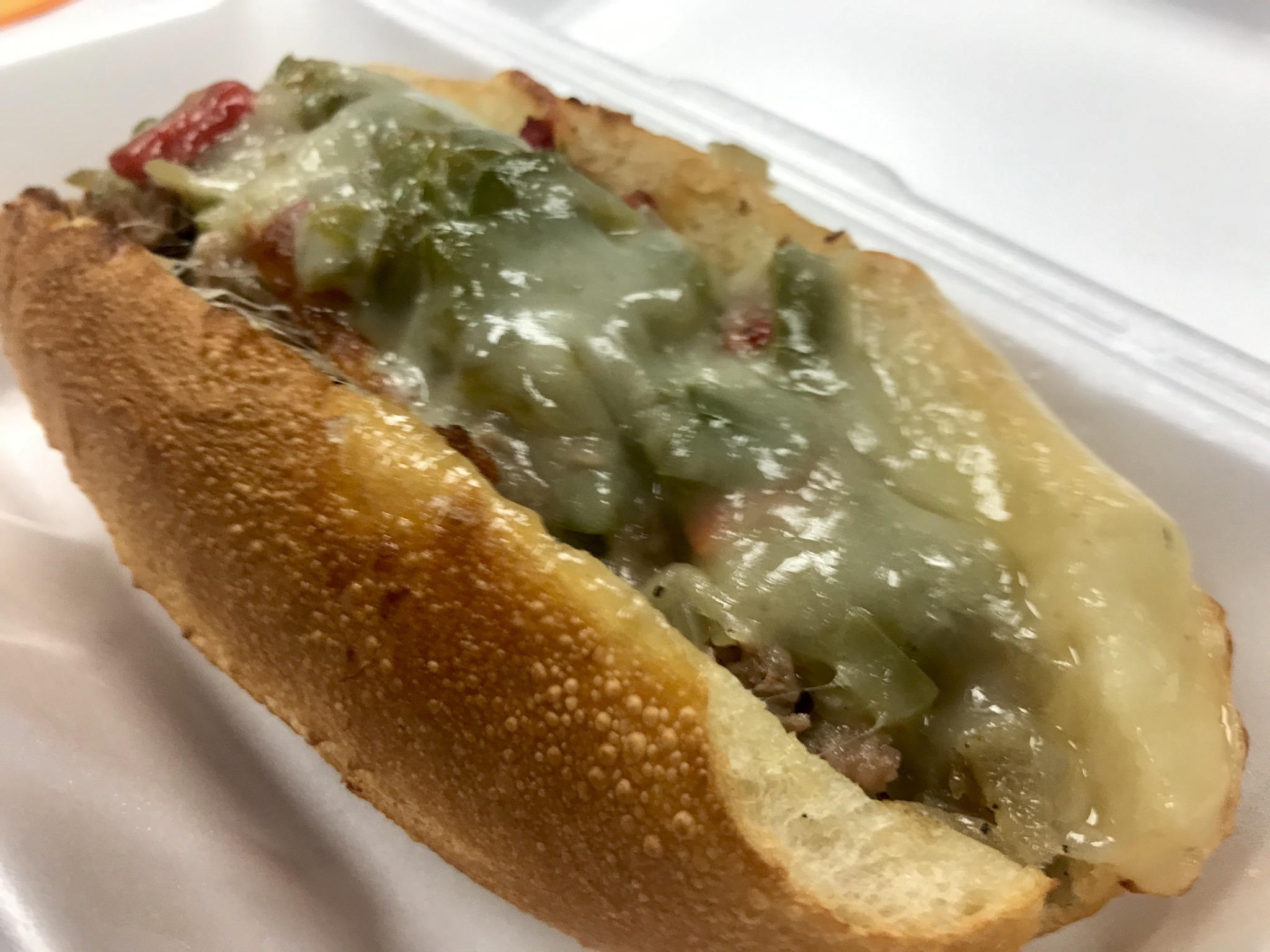 Philly Cheesesteak at Brother's Cheesesteaks in Pasco -  November 19 2018