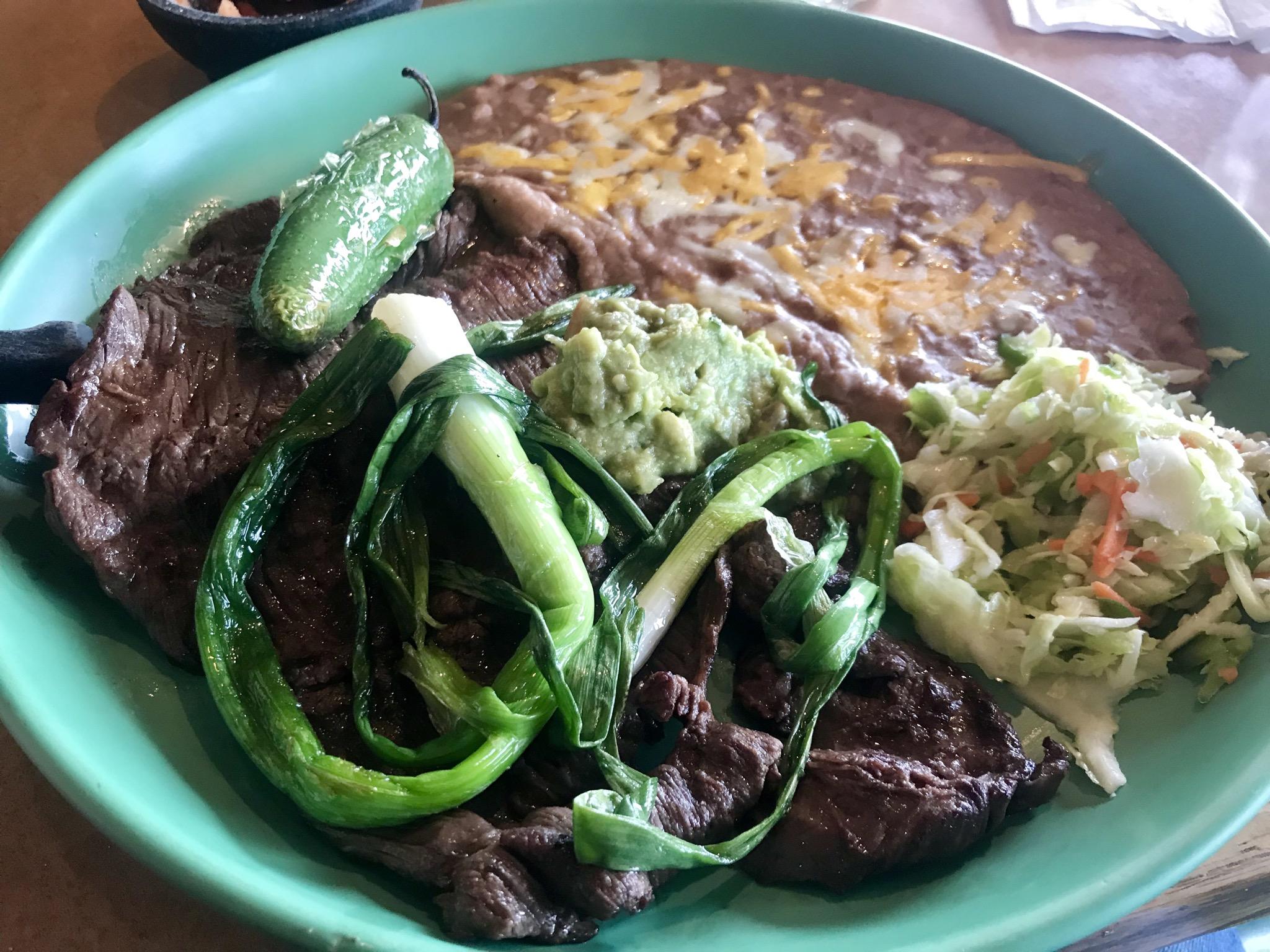 The Carne Asada at Inca Mexican Restaurant in Richland – November 27 2018