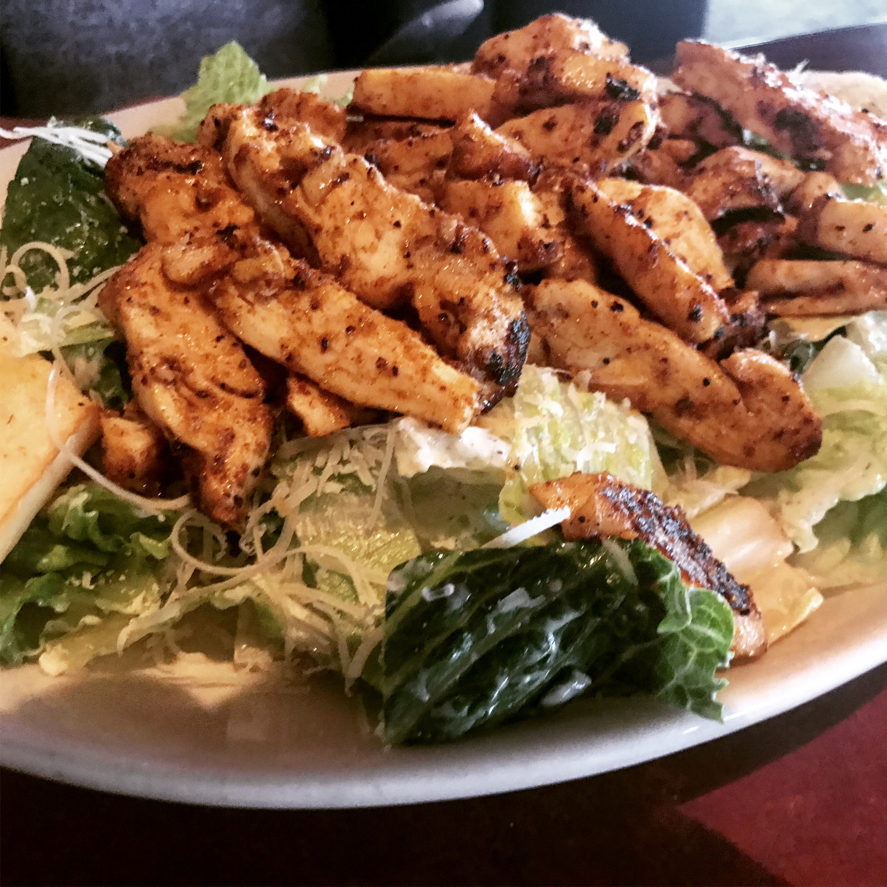 Chicken Caesar Salad at Casa Mia in Kennewick – December 6 2018