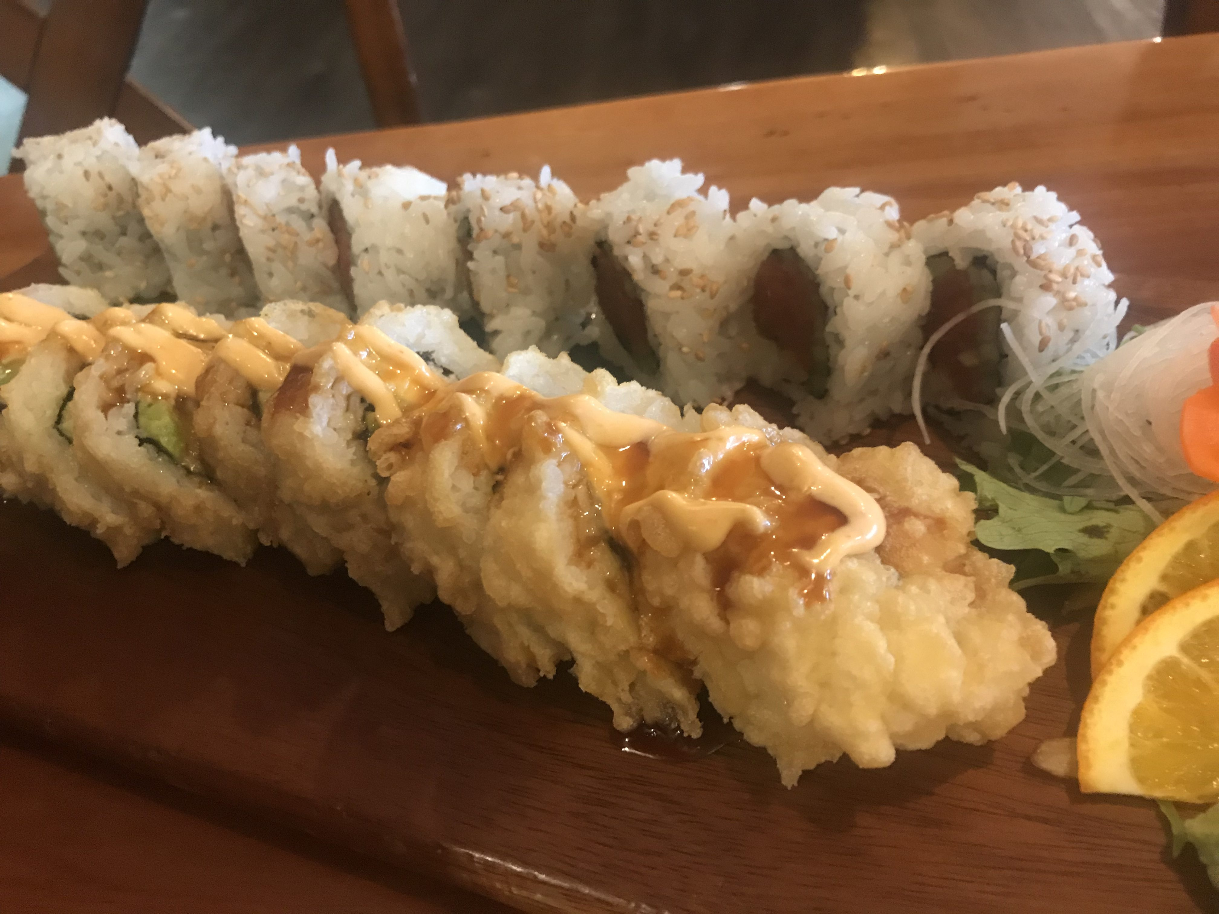 Sushi at Sushi Ya in Kennewick - February 20 2019