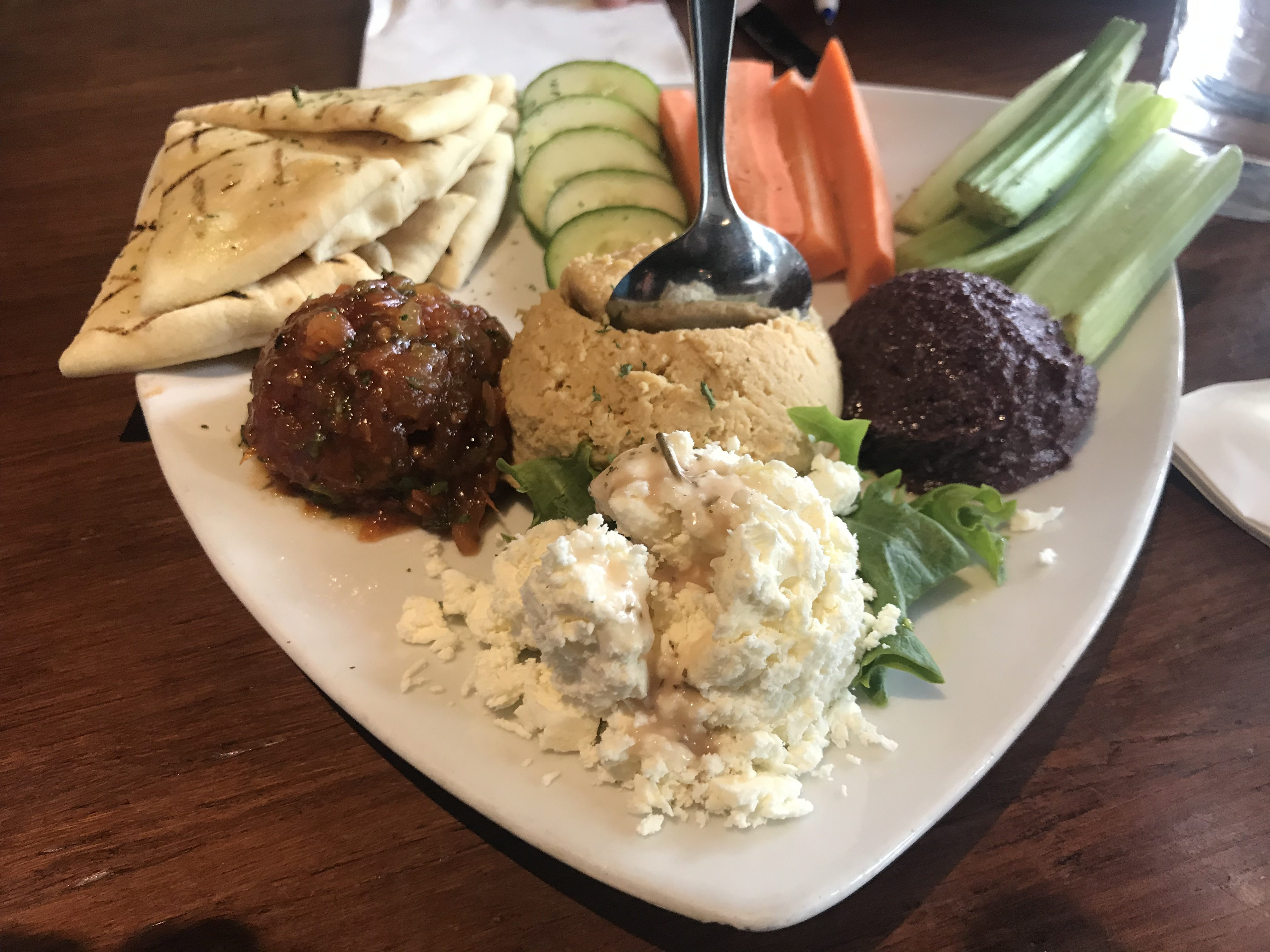 Hummus at Twigs Bistro in Kennewick – January 4 2019