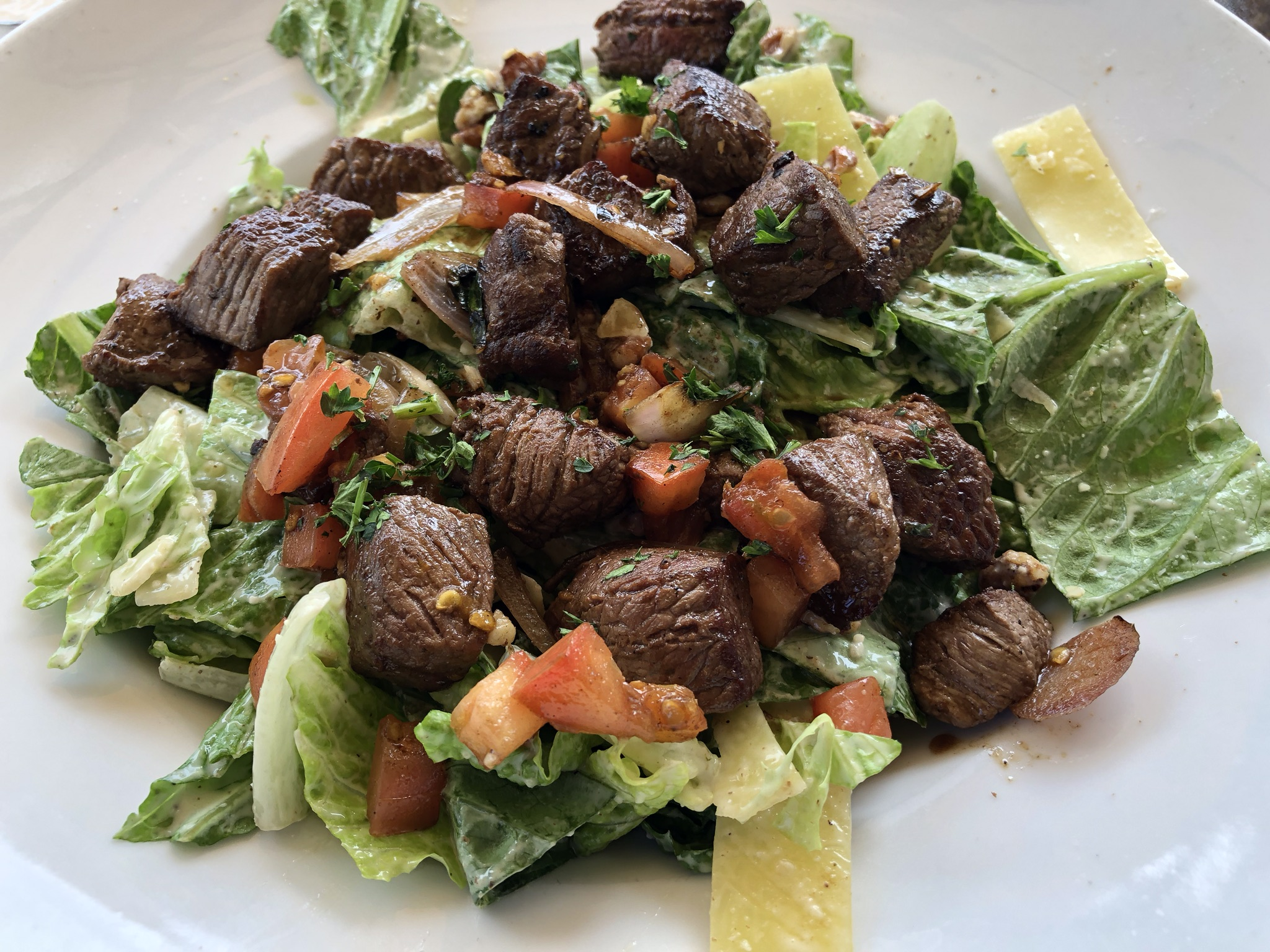 Salads at Twigs Bistro in Kennewick – May 23 2019