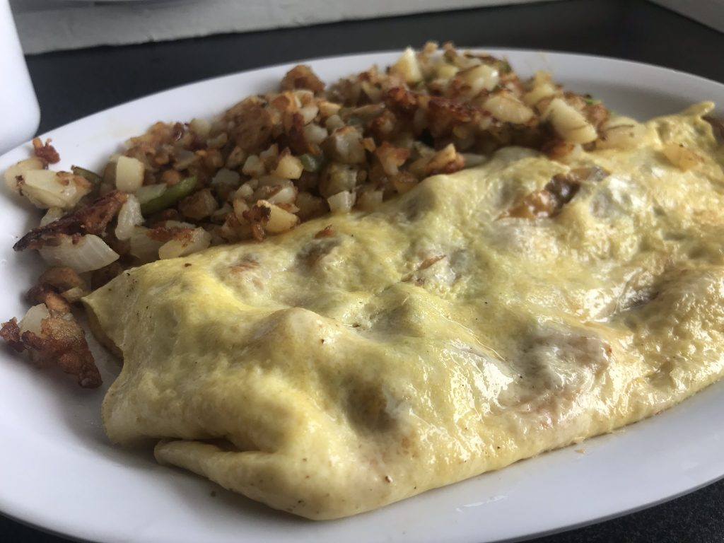 The Gary Z Omelette at Just Joel's in Kennewick - May 19 2019
