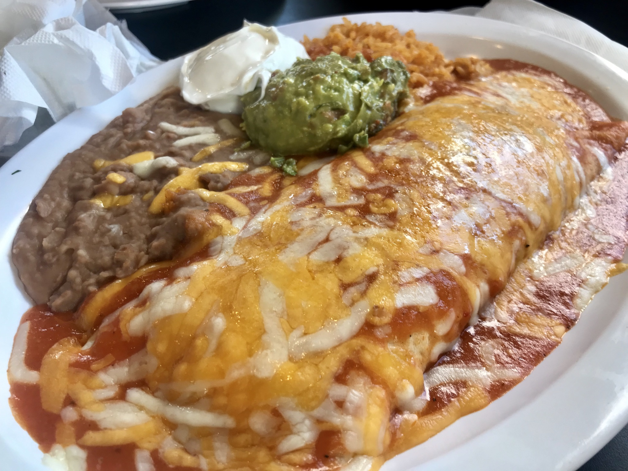 Dinner at Chapala Express II in Kennewick – January 9 2020