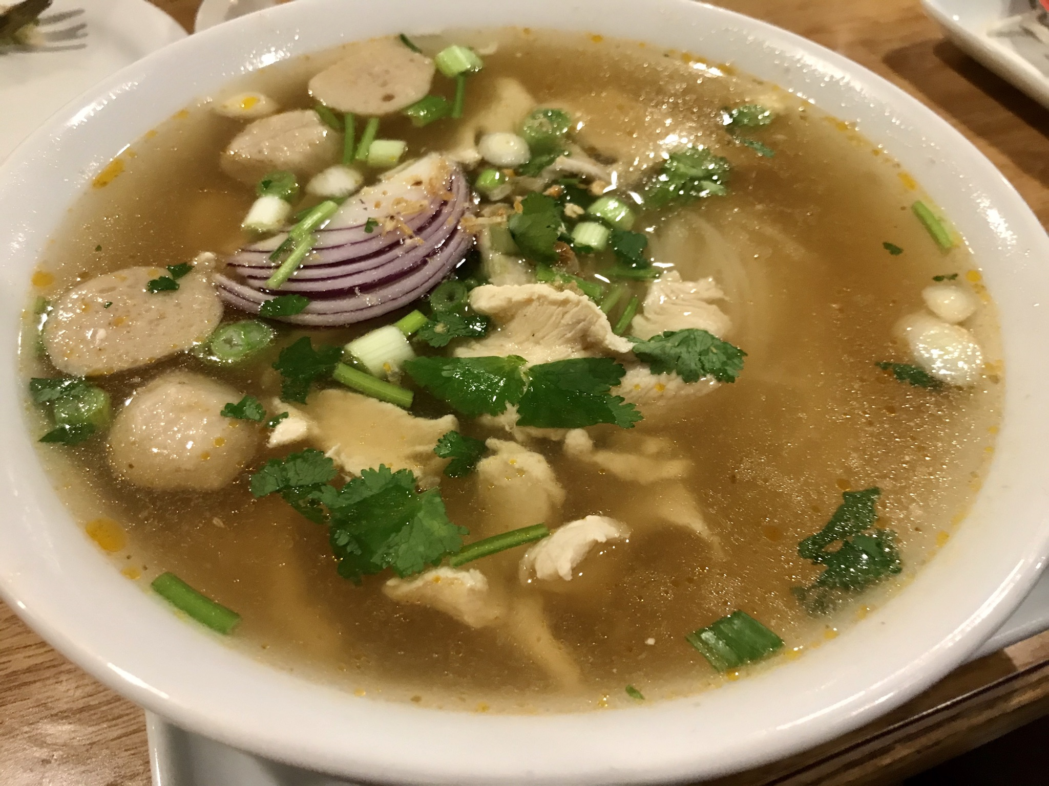 Chicken Pho at Bangkok Thai in Kennewick – January 3 2020