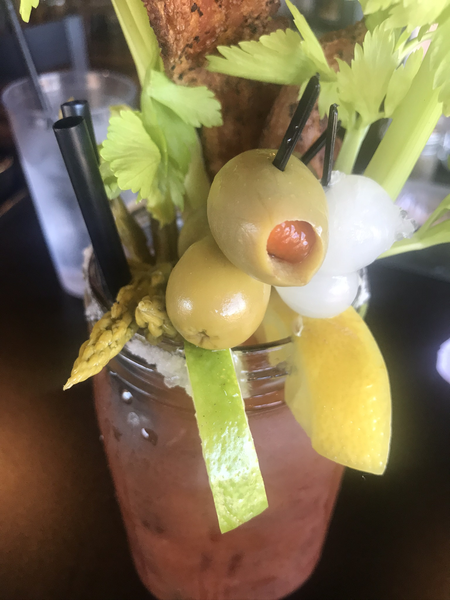 Bloody Marys at The Edge Steakhouse in Kennewick – July 12 2019