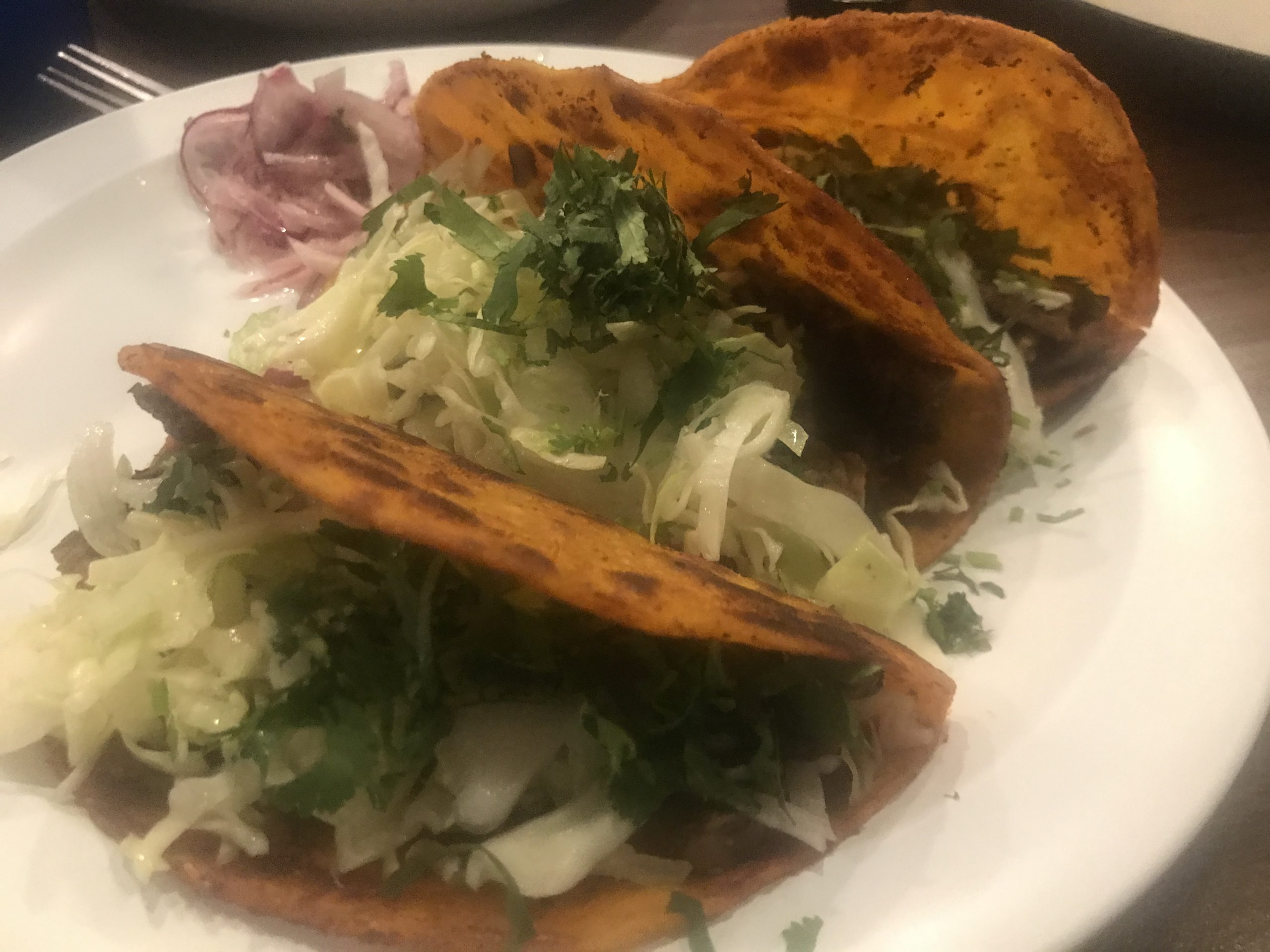 Tacos at Tomatillo Authentic Mexcian Flavors – April 7 2019