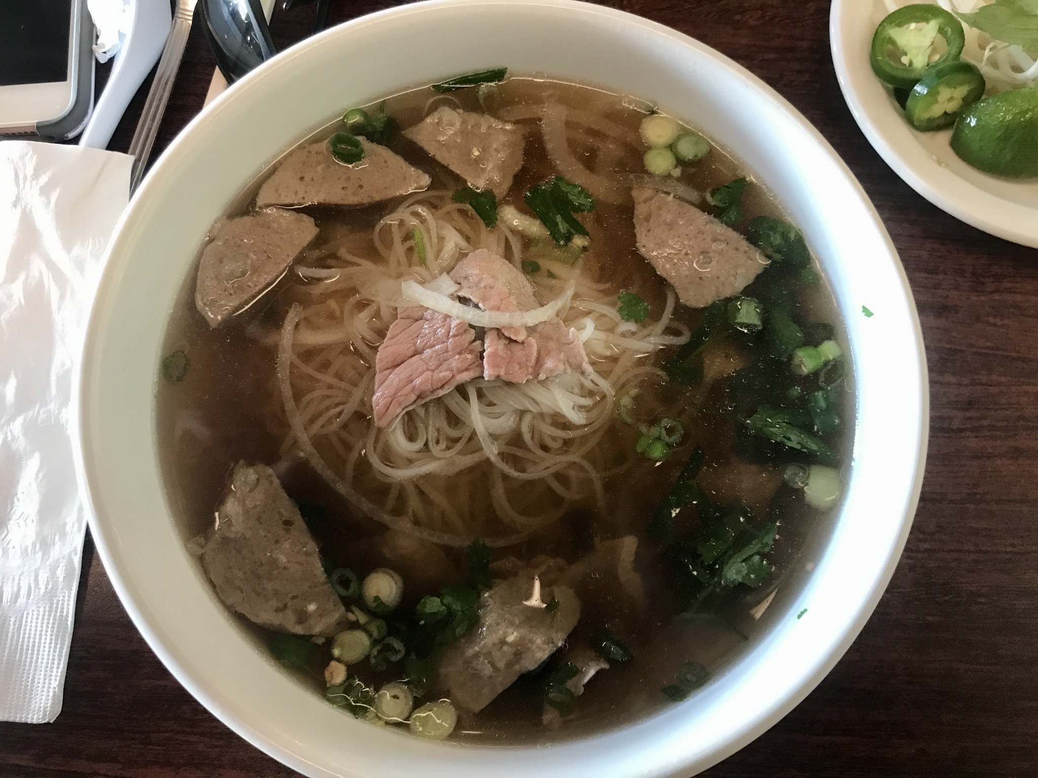 Beef Pho at Yummie Pho in Kennewick – April 3 2019
