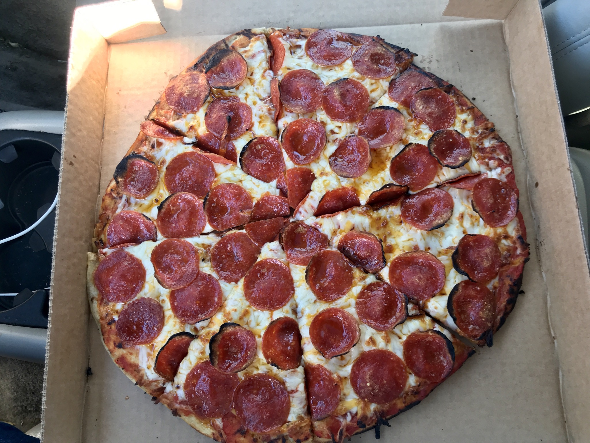 Pepperoni Pizza at Pizza Speedway in Kennewick – February 20 2020