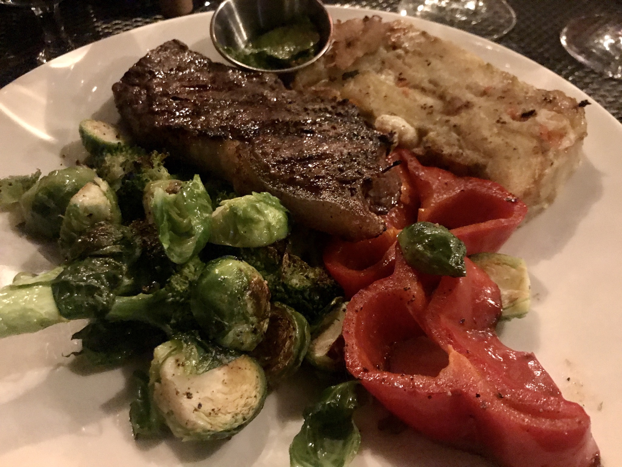 Dinner at Bookwalter in Richland – August 21 2020