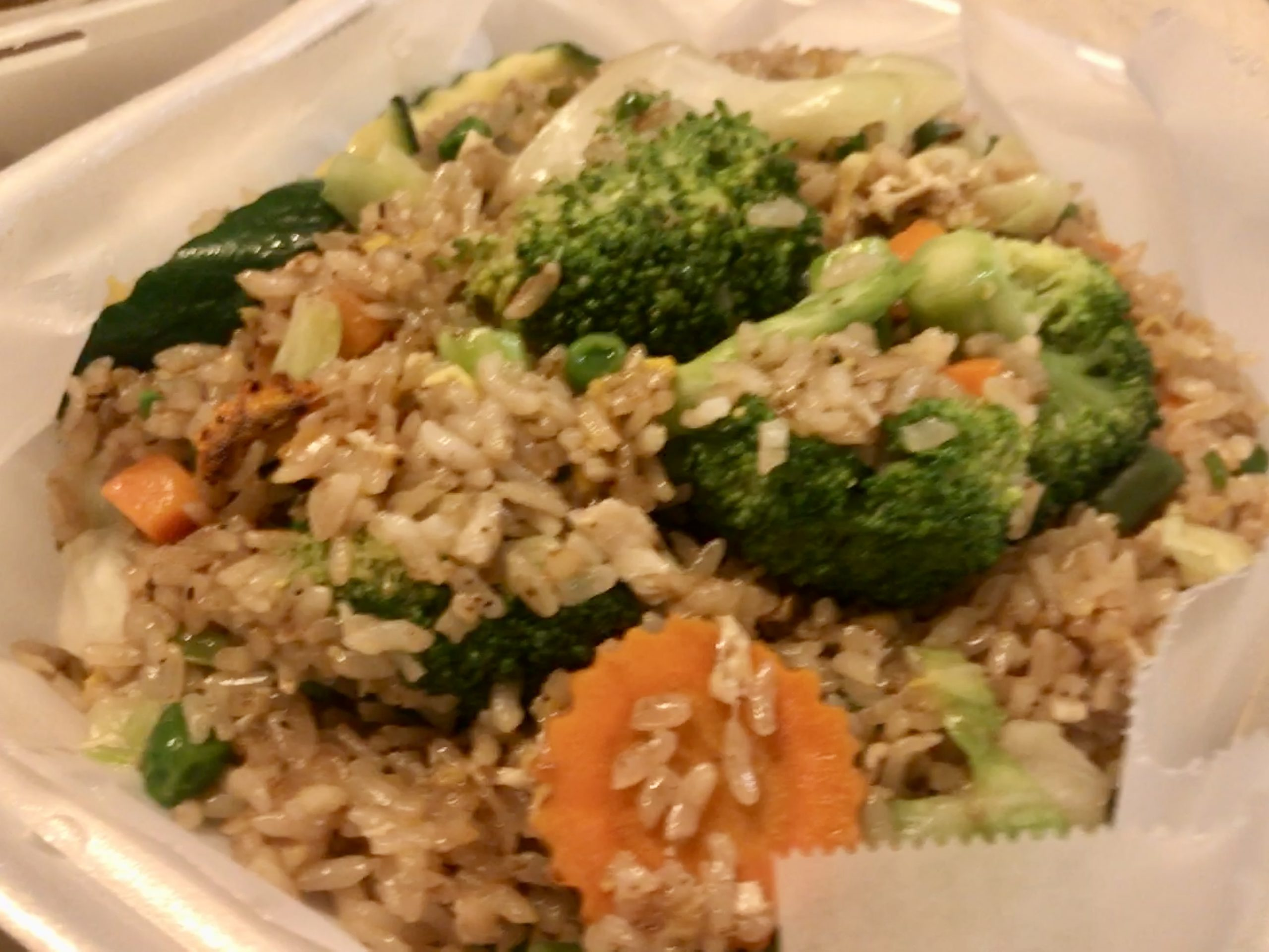 Dinner from Tips Thai House in Kennewick – October 10 2020