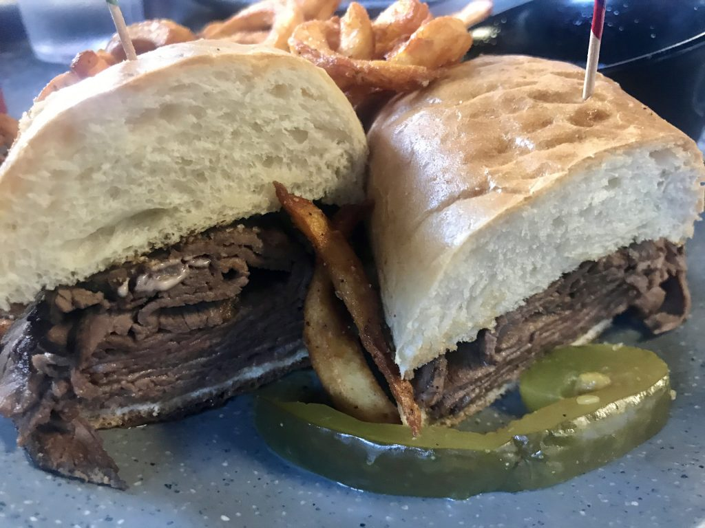 The French Dip and Dagwood Sandwich at Andy's North in Pasco – March 28 2021