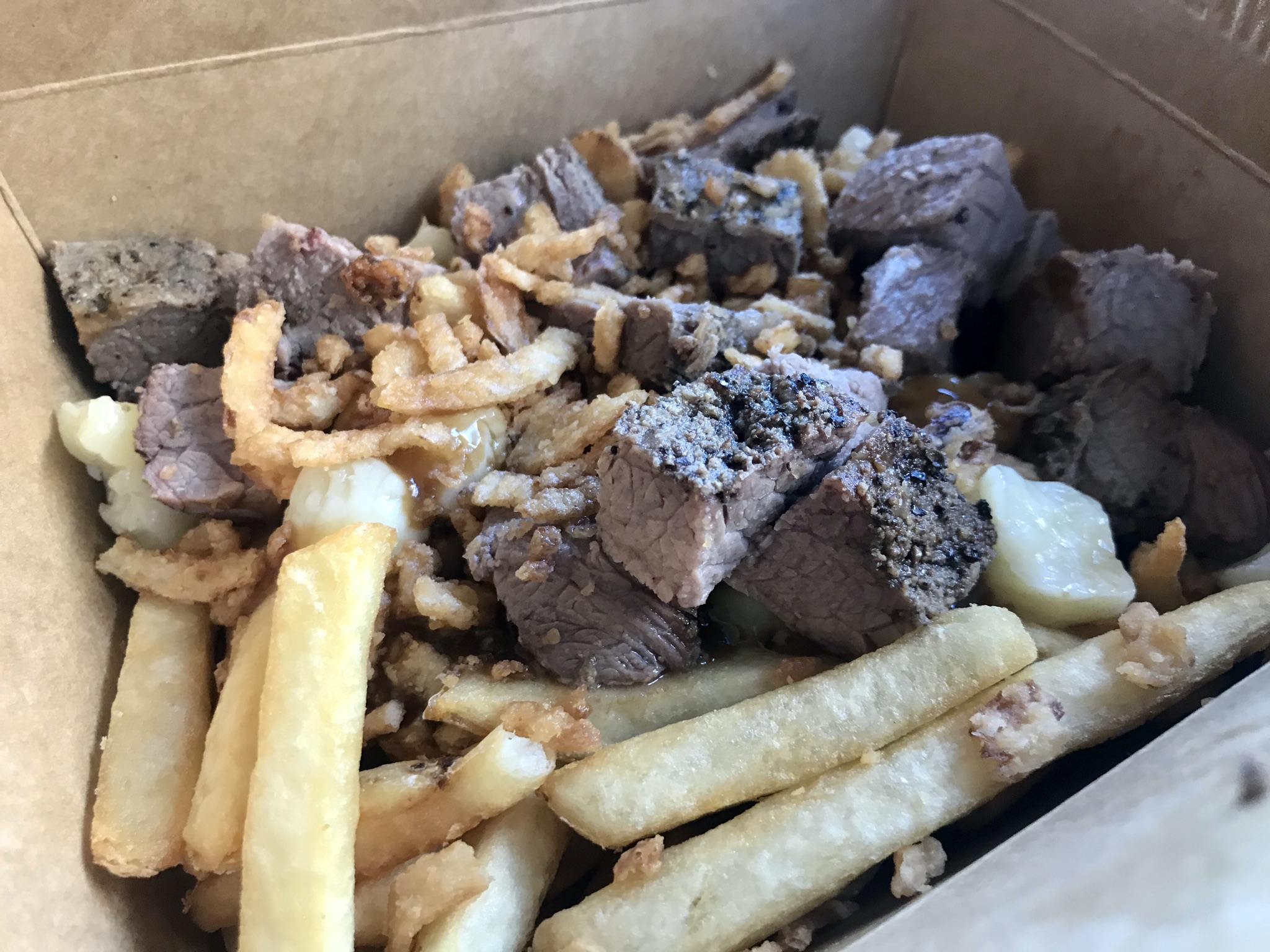 Lunch at Poutine, Eh? In Kennewick – December 1 2020