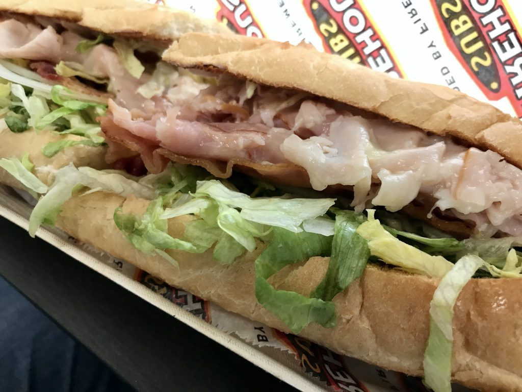 Lunch From Firehouse Subs in Kennewick – November 24 2020